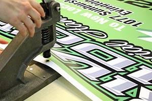 Application of Vinyl and finishing of  the sign Image