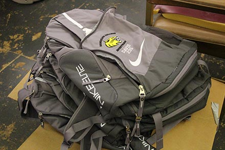 Personalized nike backpack for Randolph College